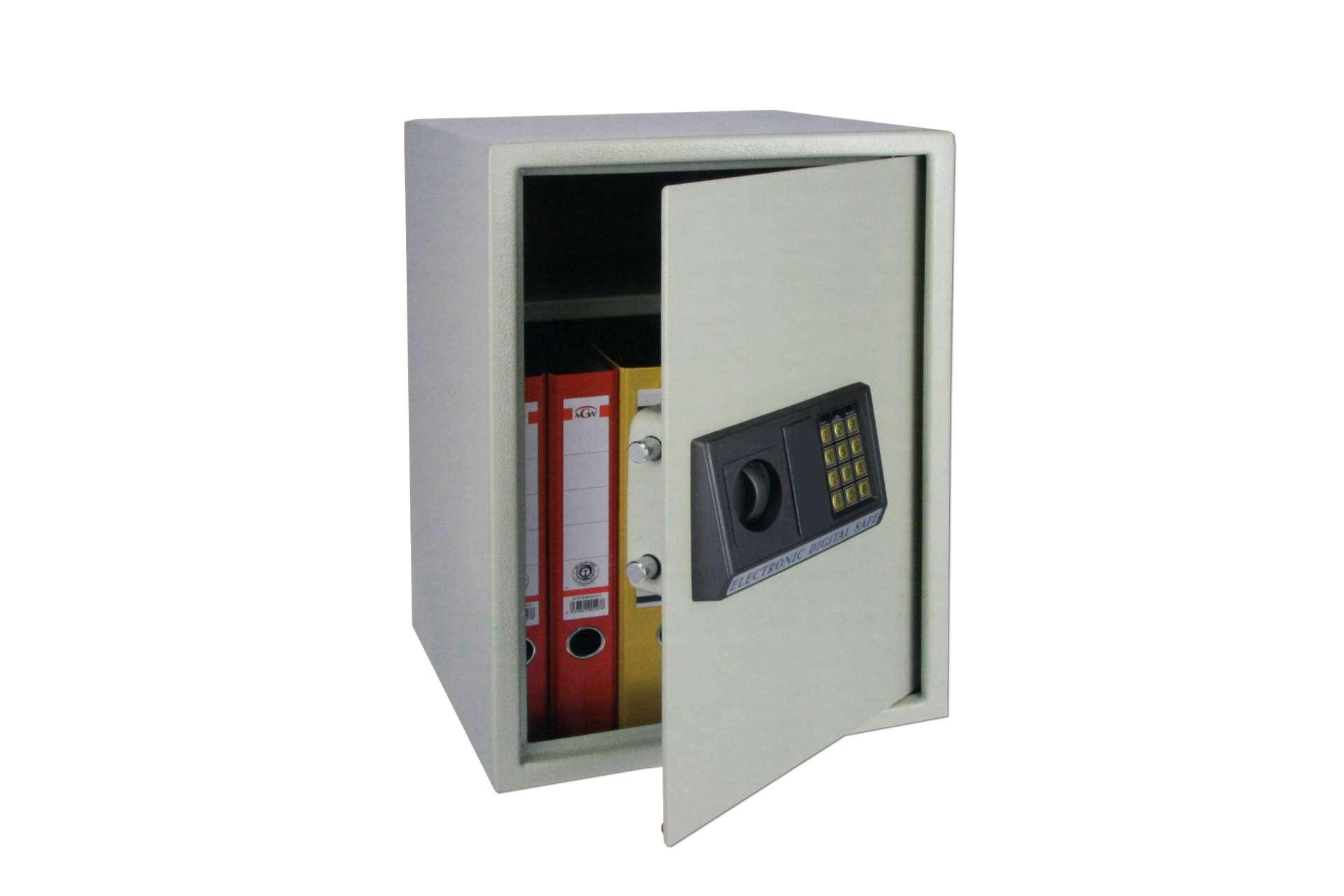 Tresor elektronisch KYNAST Safe für DIN A4 Ordner Schrank   Zubehör ...