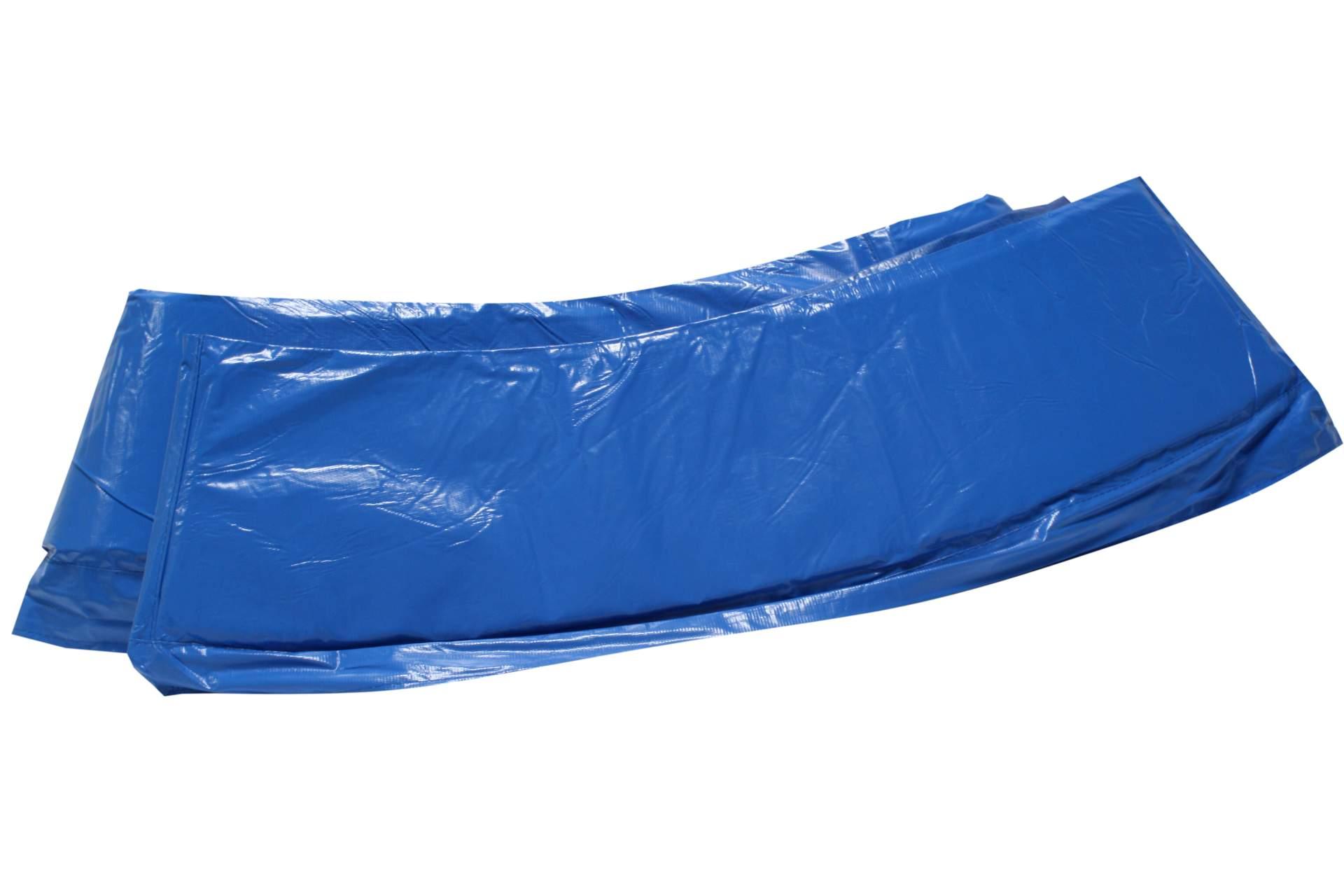 trampolin randabdeckung 250 cm feder abdeckung blau 8 ft pvc sport sport und freizeit. Black Bedroom Furniture Sets. Home Design Ideas